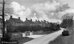 Crawley Down, Hophurst Road c.1960