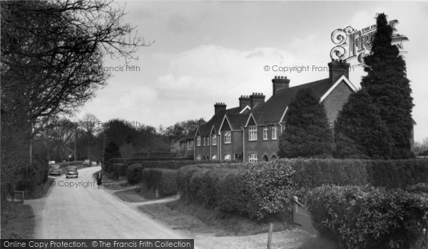 Photo of Crawley Down, Hophurst Road c.1960