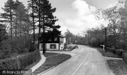 Crawley Down, Main Road c.1960