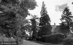 Crawley Down, Sandy Lane c.1955