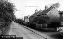Crawley Down, Sandy Lane c.1965