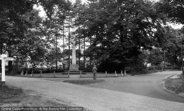 Photo of Crawley Down, The Cross Roads c.1955