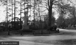 Crawley Down, The Memorial c.1960