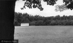 Crawley Down, The Recreation Ground c.1955