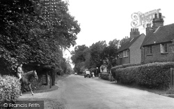 Crawley Down, The Village c.1955