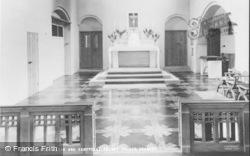 Crawley, Friary Church, High Altar And Sanctuary c.1960