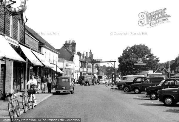 Photo of Crawley, High Street c.1965