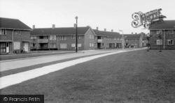 Crawley, New Town, Monksfield c.1955