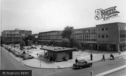Crawley, Queens Square c.1965