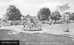 Crawley, Recreation Ground c.1960