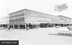 Crawley, Shopping Centre c.1960