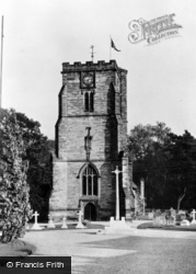 Crawley, St John The Baptist Church c.1955