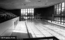 Crawley, Swimming Baths c.1965