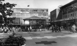Crawley, The Bandstand c.1960
