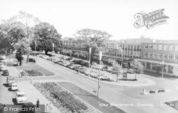 Crawley, The Boulevard c.1955