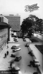 Crawley, The Boulevard c.1965