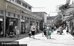 Crawley, The Broadwalk c.1960