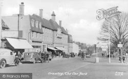 Crawley, The Car Park c.1950