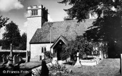 Crawley, The Church c.1960