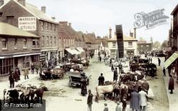 Crawley, The Fair, Upper Square 1905
