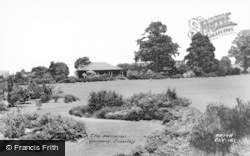 Crawley, The Memorial Gardens c.1965