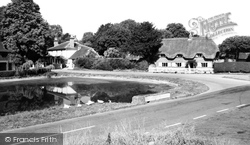 Crawley, The Pond c.1960