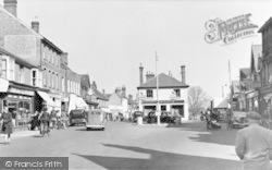 Crawley, The Square c.1950