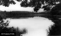 Crawley, Tilgate Lake c.1965