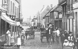 Crayford, High Street c.1890