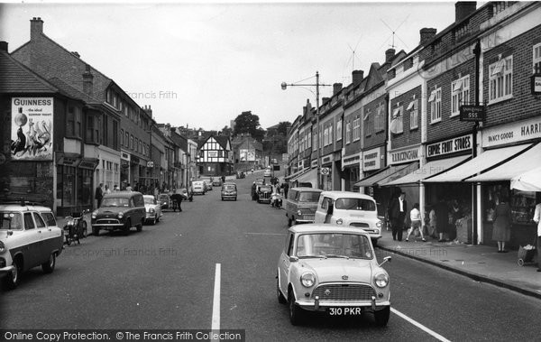 Photo of Crayford, High Street c.1965