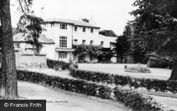 Crayford, Manor House c.1965