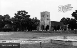 New Gardens And St Paulinus Church c.1965, Crayford