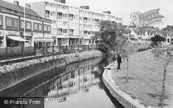 Crayford, Riverside c.1965