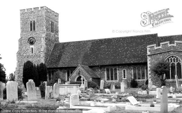 Crayford, Saint Paulinus Church c1955