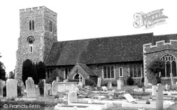 Crayford, Saint Paulinus Church c.1960