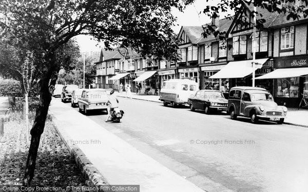Photo of Crayford, The Parade c.1965