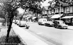 Crayford, The Parade c.1965