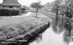 Crayford, The River c.1965