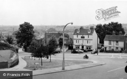 Crayford, View From The Church c.1960