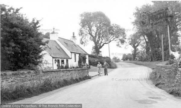 Photo of Creetown, Carlsuith Cottages c.1960