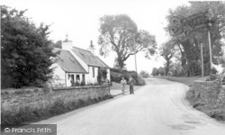 Creetown, Carlsuith Cottages c.1960
