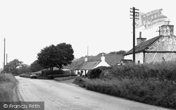 Creetown, Carsluith Cottages c.1960