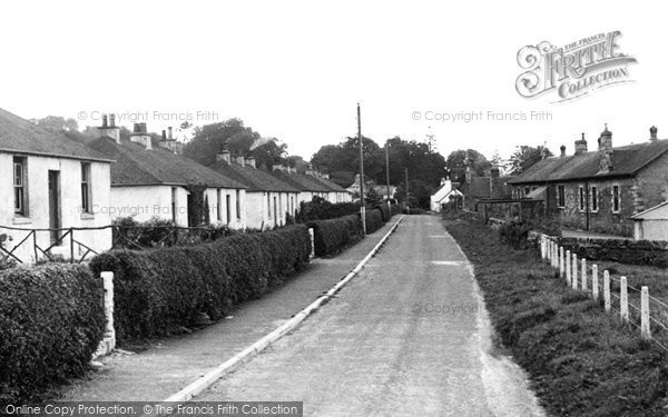 Photo of Creetown, Chain Road c.1955