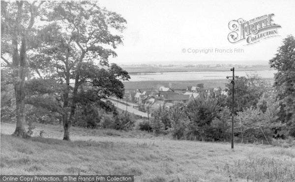 Photo of Creetown, Louden Place c.1950