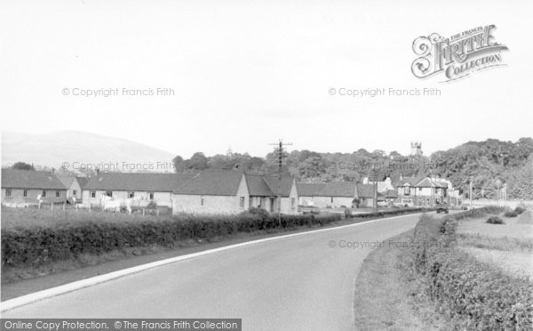 Photo of Creetown, Louden Place c.1955