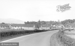 Creetown, Louden Place c.1955