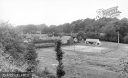 Creetown, Playing Field And Tennis Courts c.1955