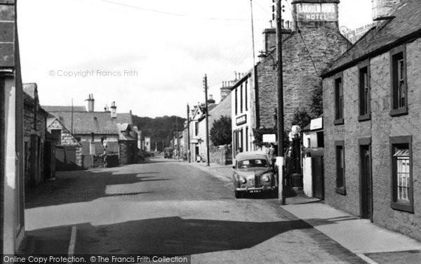 Photo of Creetown, St John's Street c1955