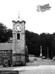 Creetown, The Clock Tower c.1955