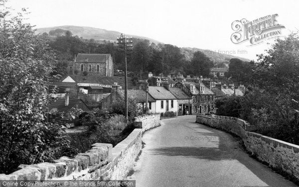 Photo of Creetown, The Rc Chapel And Larg Hill c.1955
